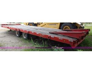 2000 Towmaster T40T Tiltmaster trailer
