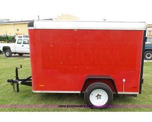 1998 U.S. Cargo JSC58SA enclosed cargo trailer
