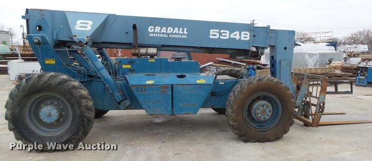 gradall 534d9-45 operators manual