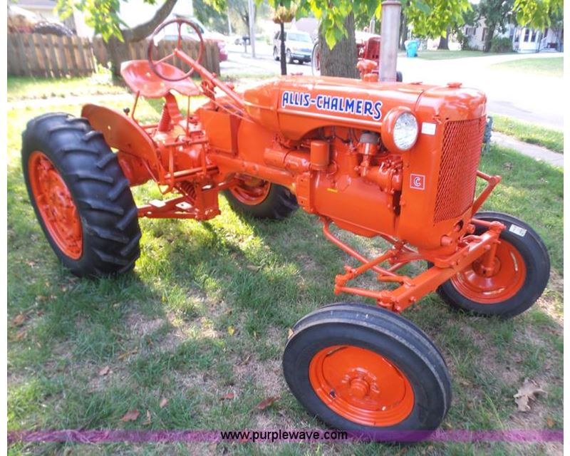 1953 Allis Chalmers Ca Tractor For Sale