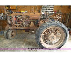 1938 Farmall F20 tractor