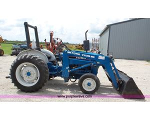 Ford 2810 tractor