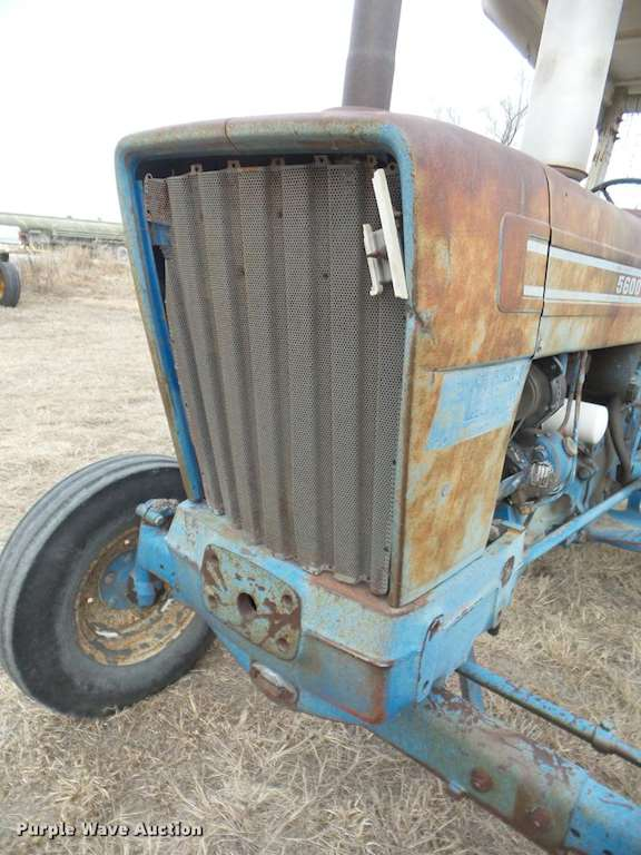 5600 Ford Tractor Seat : Ford tractor for sale hours phillipsburg ks