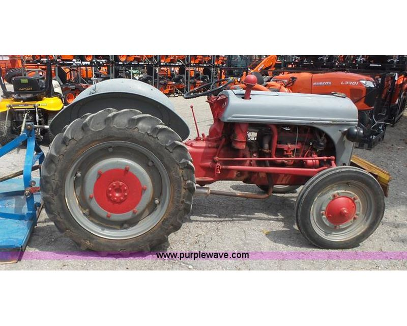 8n Ford Tractor Transmission : Ford n tractor for sale manhattan ks