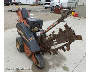 Ditch Witch 1020 walk behind trencher