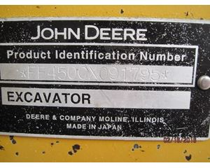 John Deere 450C LC Crawler Excavator