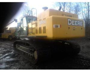 John Deere 450D LC Crawler Excavator
