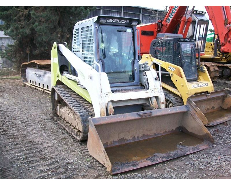 2007 Takeuchi Tl150 Crawler Loader For Sale - Eugene  Or