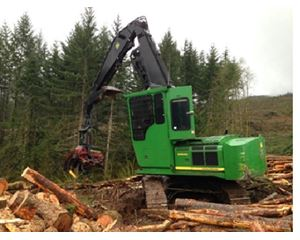 John Deere 2954D Forestry Equipment