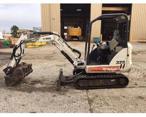 Bobcat 328 Mini Excavator