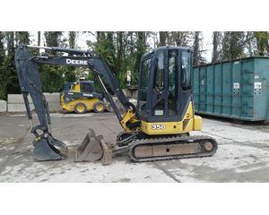 John Deere 35D Mini Excavator