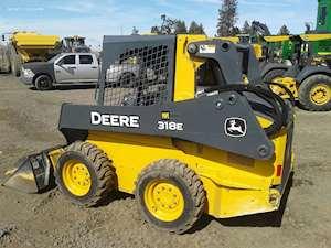 2015 John Deere 318E Skid Steer For Sale, 689 Hours
