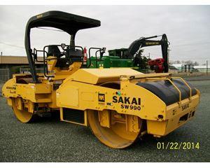 Sakai SW990 Smooth Drum Compactor