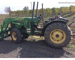 John Deere 5500N Tractors - 40 HP to 99 HP