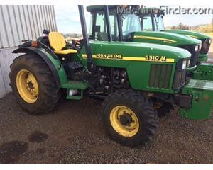 John Deere 5510N Tractors - 40 HP to 99 HP