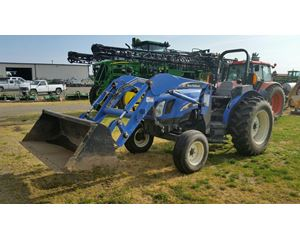 New Holland TN60A Tractors - 40 HP to 99 HP