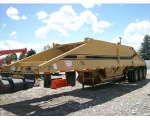 Midland MG42CLAM Bottom Dump Semi Trailer