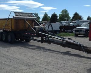 Clement Tri-Axle End Dump Pup Trailer