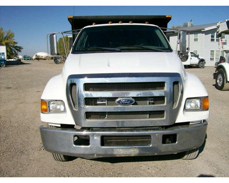 2006 ford f 650 medium duty dump truck for sale idaho. Black Bedroom Furniture Sets. Home Design Ideas
