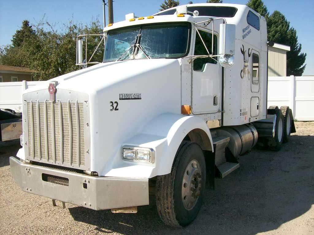2001 Kenworth T800 Sleeper Truck For Sale, 973,373 Miles ...