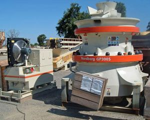 Barmac GP300 Cone Crusher