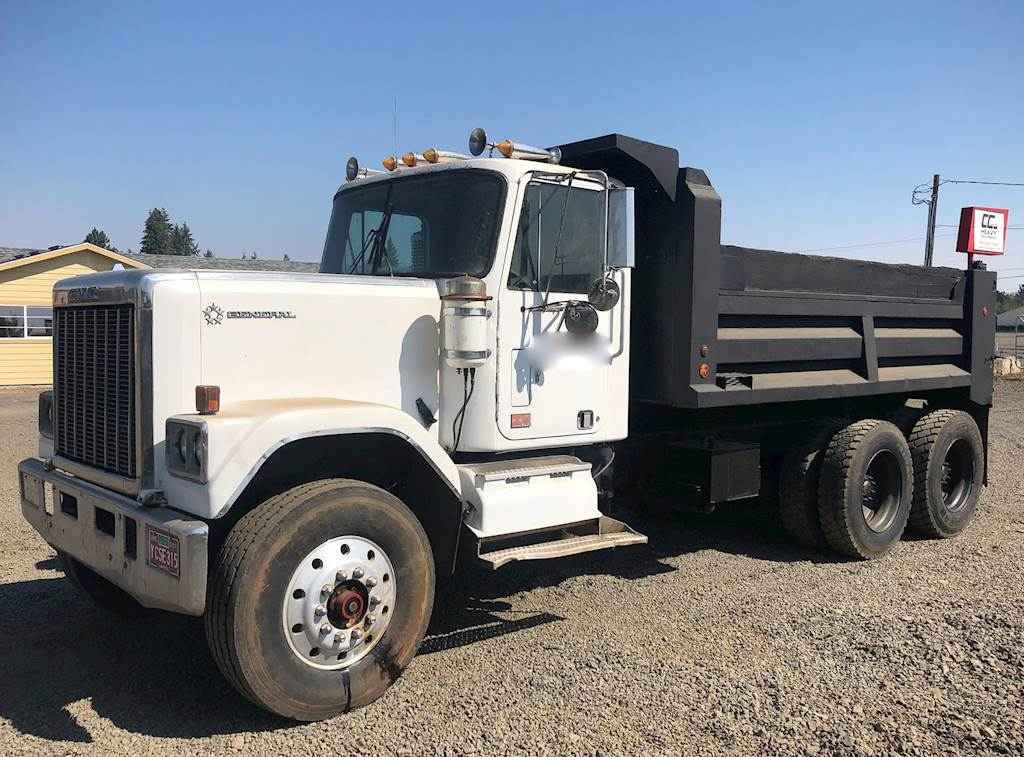1981 Gmc General 10yrd Dump Truck For Sale