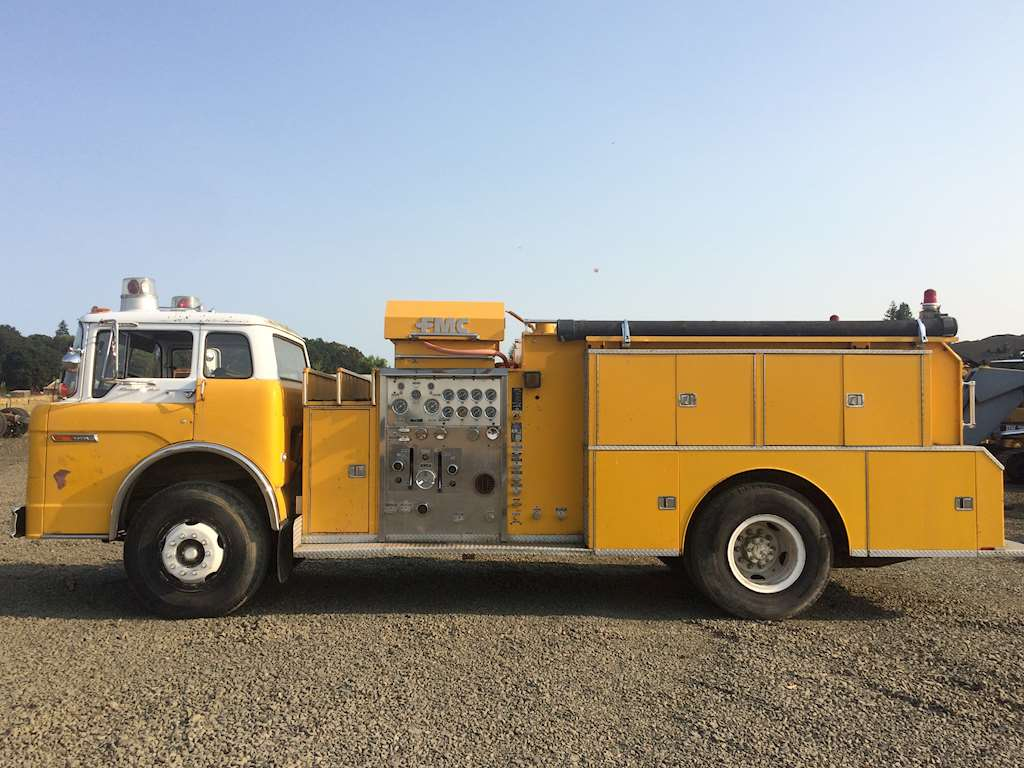 1979 Ford Fmc Fire Truck For Sale Rickreall Or Cc Heavy Equipment