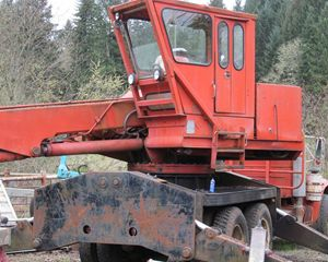 Barko 350 Log Loader