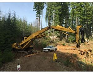 Caterpillar 235B Log Loader
