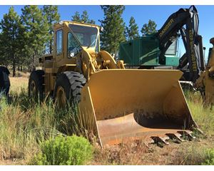 Caterpillar 966C Wheel Log Loader