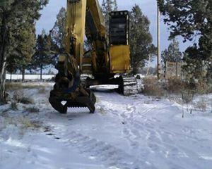 John Deere 790 Log Loader