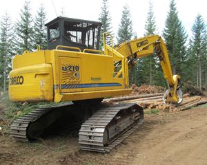 Kobelco 210 Log Loader