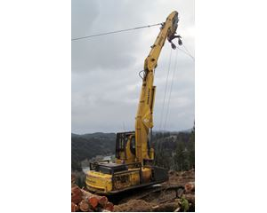 Komatsu PC 300HD Log Loader