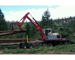 Link-Belt 3400CII Log Loader