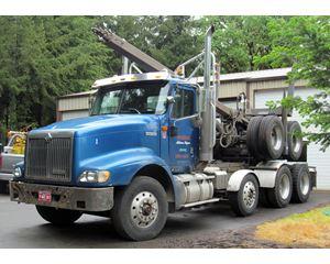 International Log Truck Logging Truck