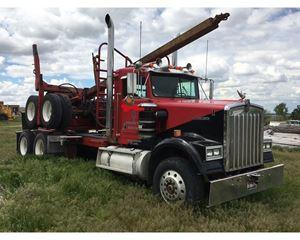 Kenworth Log Truck Logging Truck