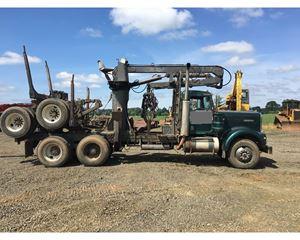 Kenworth SELF LOADER Logging Truck