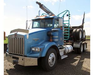 Kenworth T800 Logging Truck