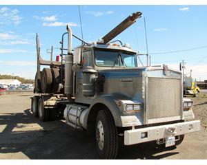 Kenworth W900 Logging Truck