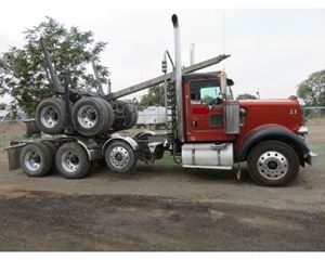 Kenworth W900B Logging Truck