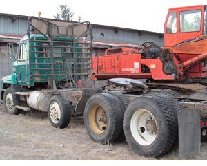 1991 Mack 400 Combo Logging Truck