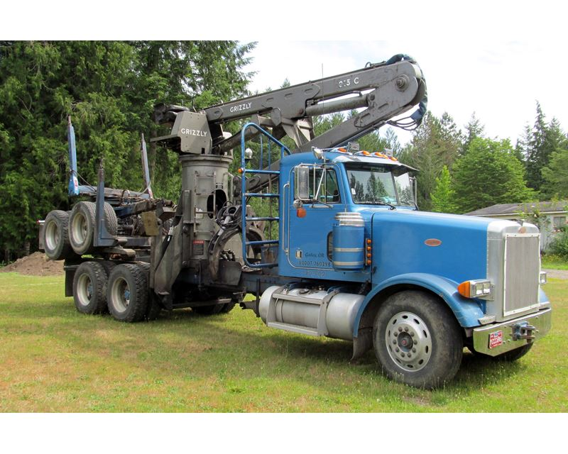 1997 Peterbilt 378 Logging Truck For Sale - Rickreall, OR ...
