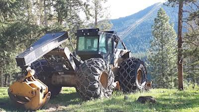 2012 Caterpillar 545C Skidder