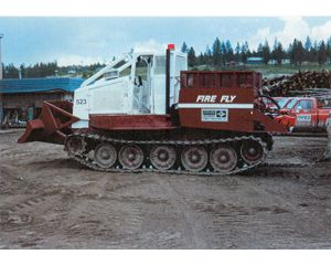 FMC 210 Fire Supression Skidder
