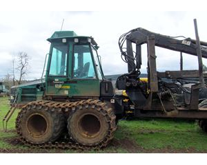 Timberjack 1210 Forwarder