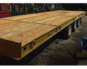 Dynaweld tilt deck Tilt Bed Trailer