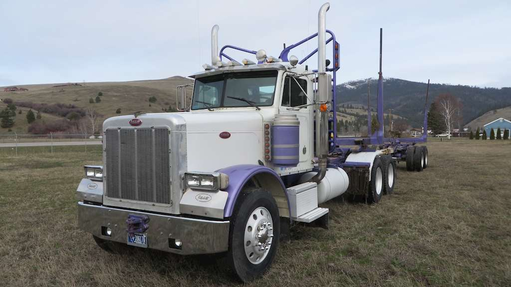 1990 Peterbilt 379 Logging Truck For Sale | Missoula, MT ...