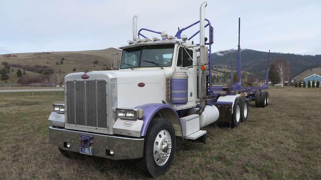 1990 Peterbilt 379 Logging Truck For Sale | Missoula, MT ...