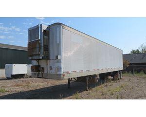 1978 Fruehauf multiple units and years Storage Van