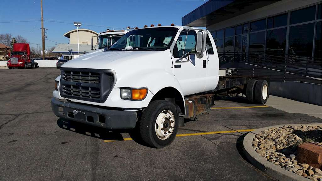 2003 ford f 650 medium duty cab chassis truck for sale. Black Bedroom Furniture Sets. Home Design Ideas